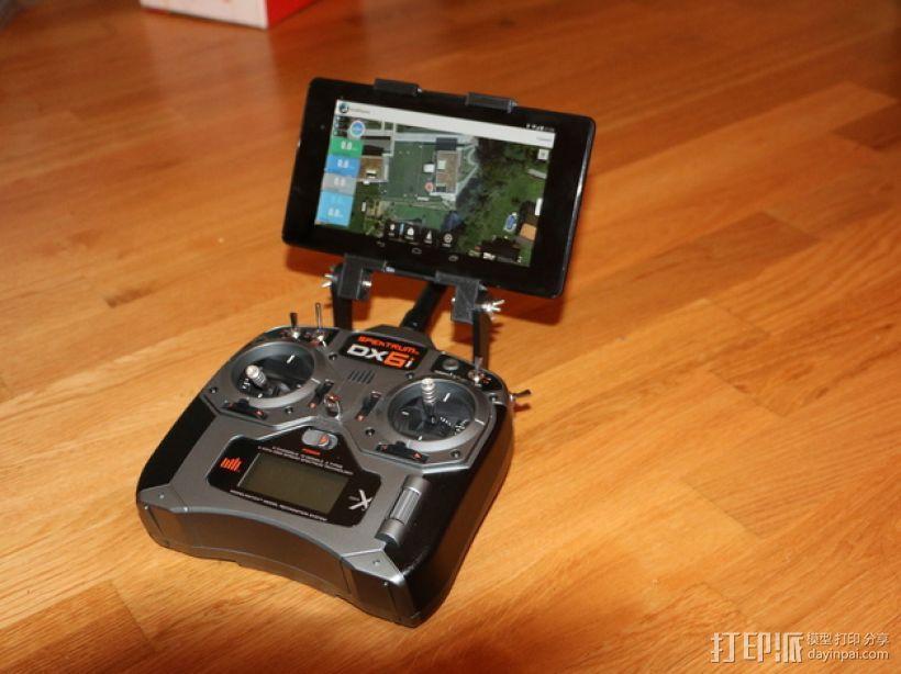 Nexus 7平板电脑支架 3D打印模型渲染图