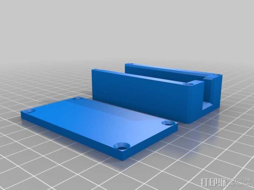FatShark视频发射机外壳 3D打印模型渲染图