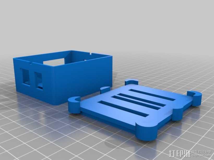 Phidget程序控制器外壳 3D打印模型渲染图