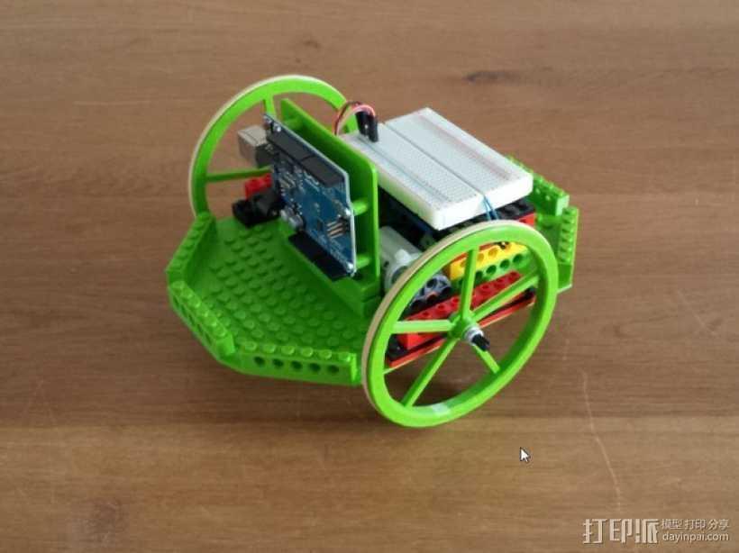 模块化机器人平台 3D打印模型渲染图