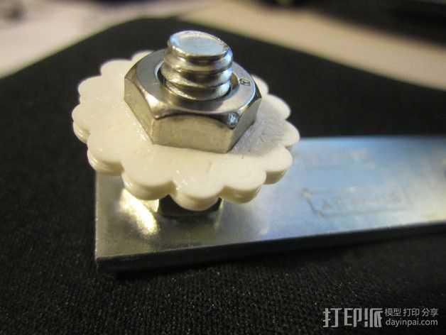 定制化旋钮 3D打印模型渲染图
