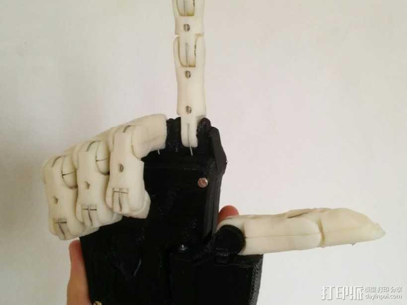 Dextrus机械手 3D打印模型渲染图