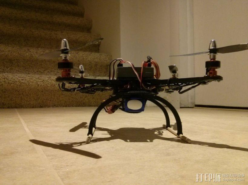 起落橇 3D打印模型渲染图