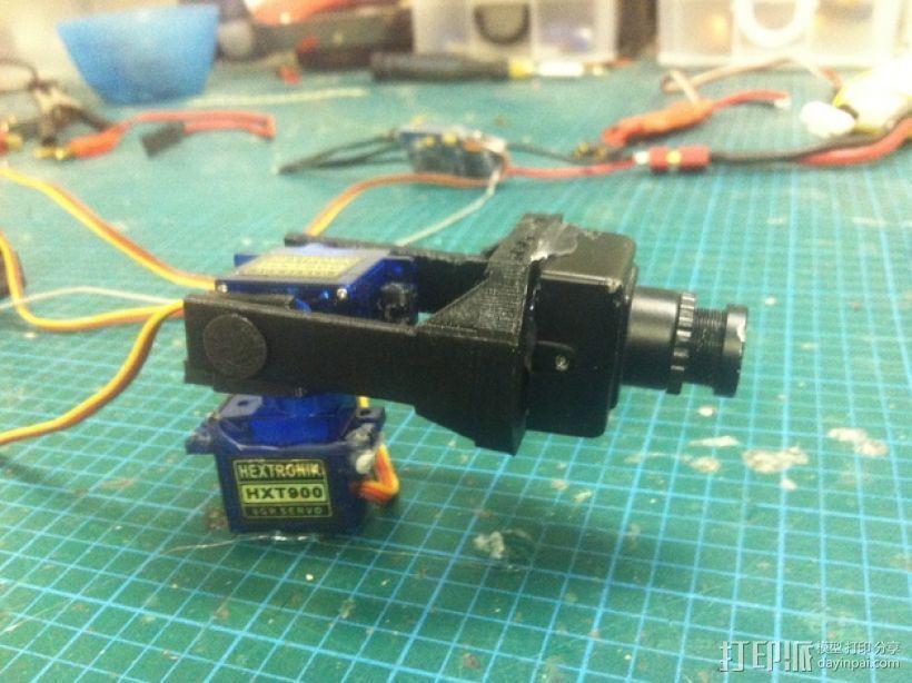 Fatshark相机支架 3D打印模型渲染图