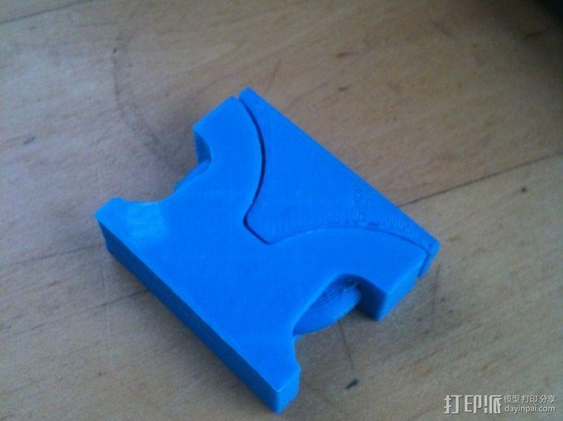 重型扣 3D打印模型渲染图