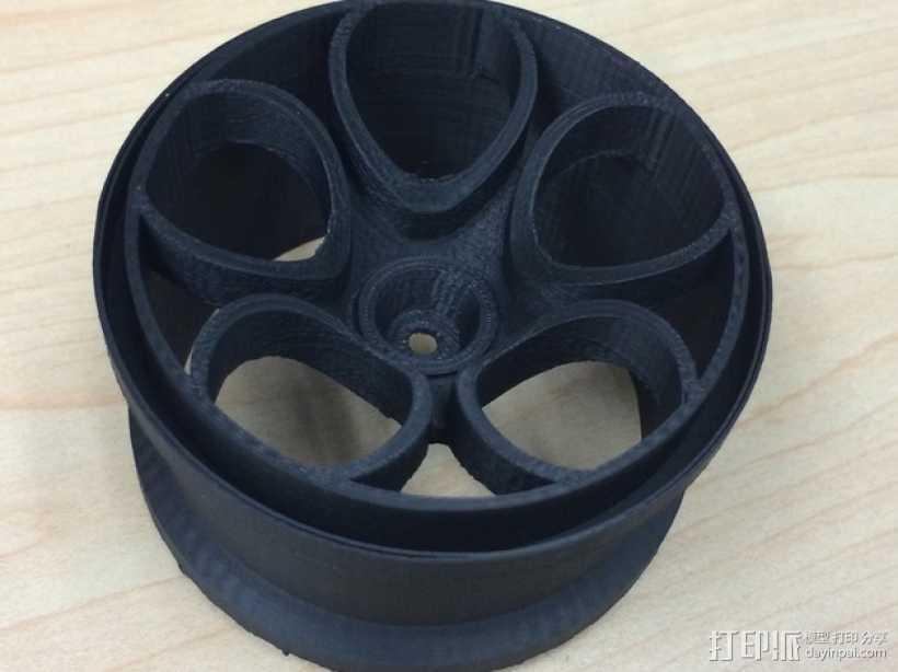 遥控越野赛车轮胎 3D打印模型渲染图