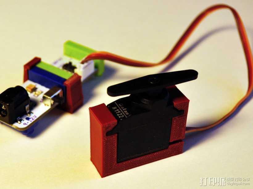 LittleBits伺服器支架 3D打印模型渲染图