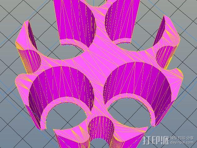 硬币筒 3D打印模型渲染图