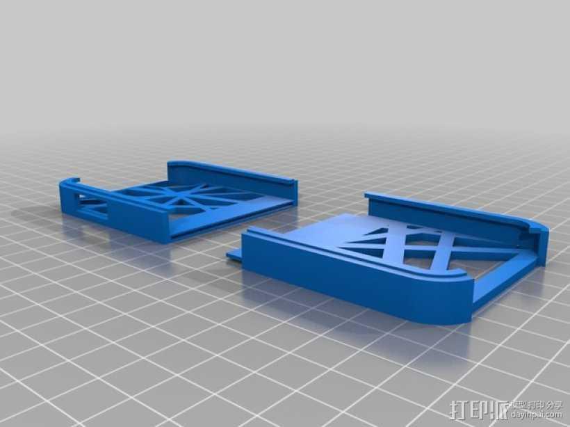 iPod touch 5外壳 3D打印模型渲染图