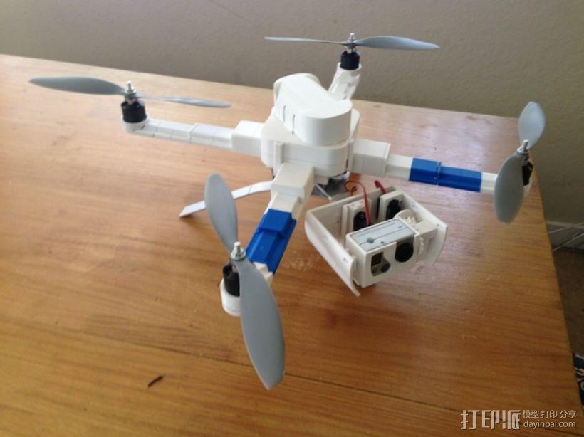 常平架 起落架 3D打印模型渲染图