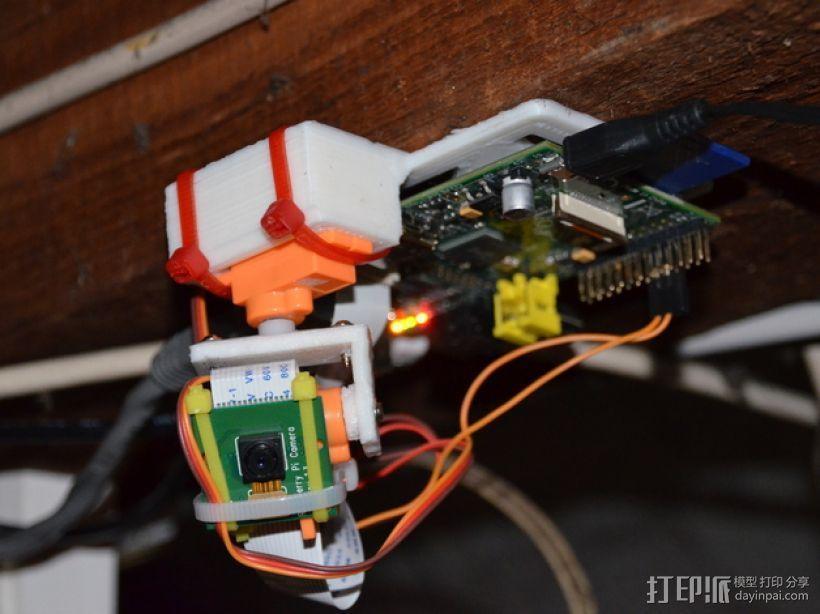 迷你伺服器支架 3D打印模型渲染图