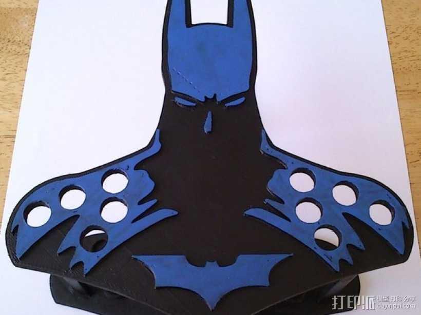 蝙蝠侠油漆刷握柄 3D打印模型渲染图