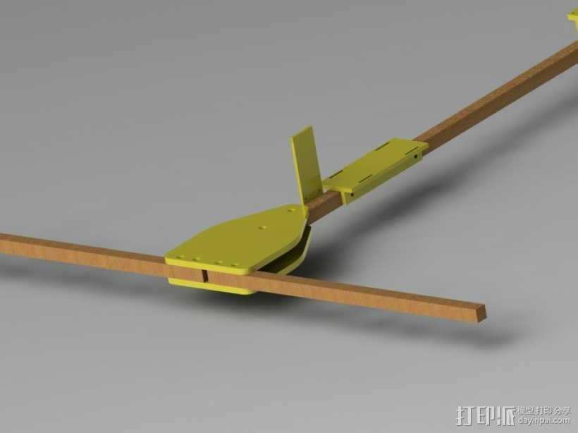 FPV多轴飞行器 3D打印模型渲染图