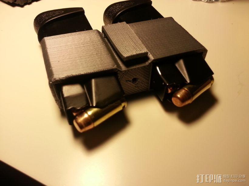 弹匣固定架 3D打印模型渲染图