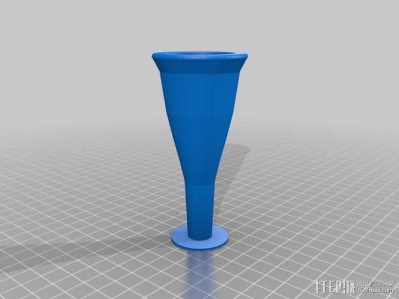 大号 号嘴 3D打印模型渲染图