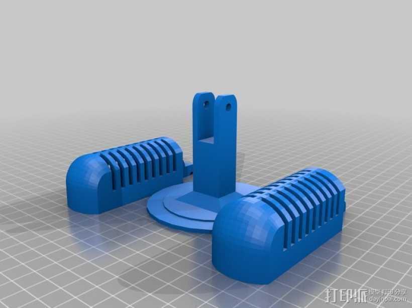 老式麦克风 3D打印模型渲染图