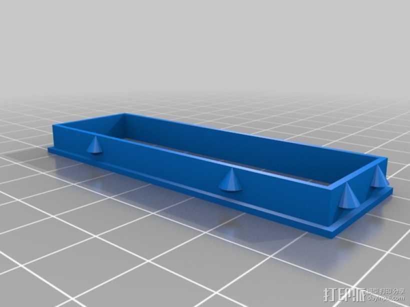 定制化LED显示器外壳 框架 3D打印模型渲染图