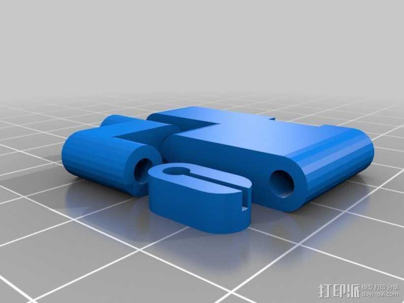 Arduino和树莓派电路板底板 3D打印模型渲染图