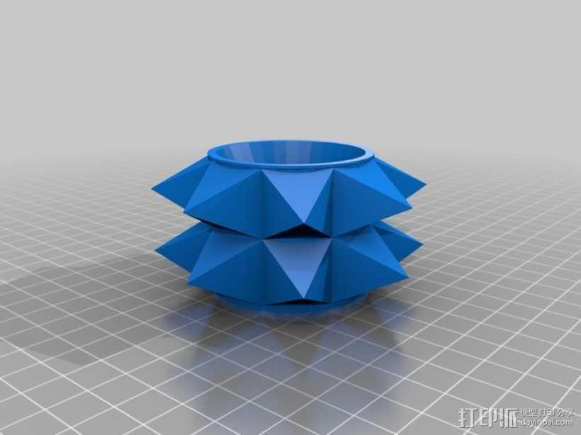 遥控赛车 雪地防滑轮 3D打印模型渲染图