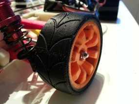 1:10车轮轮胎