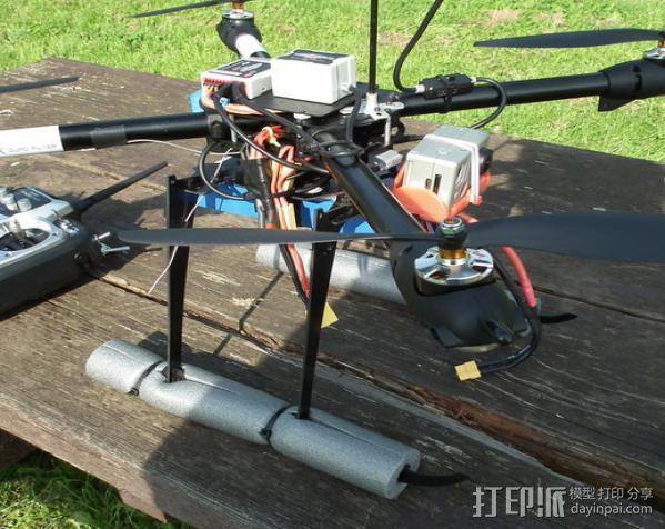 gopro hero 2相机支架 3D打印模型渲染图