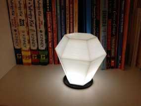 钻石形LED台灯