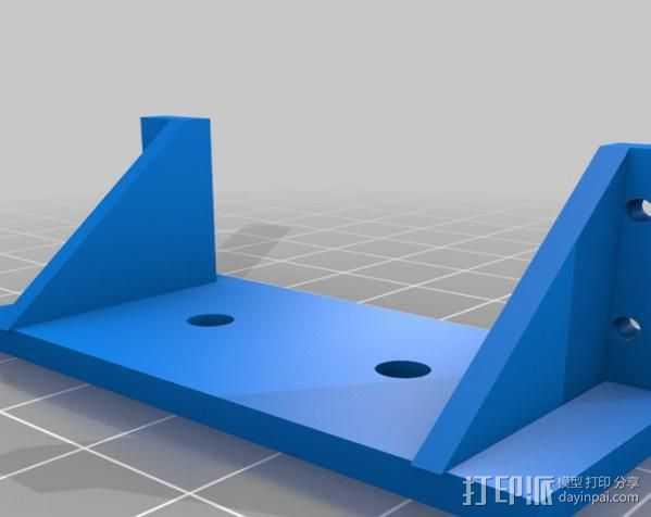 伺服支架 3D打印模型渲染图