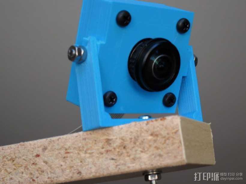 M12相机外壳 3D打印模型渲染图