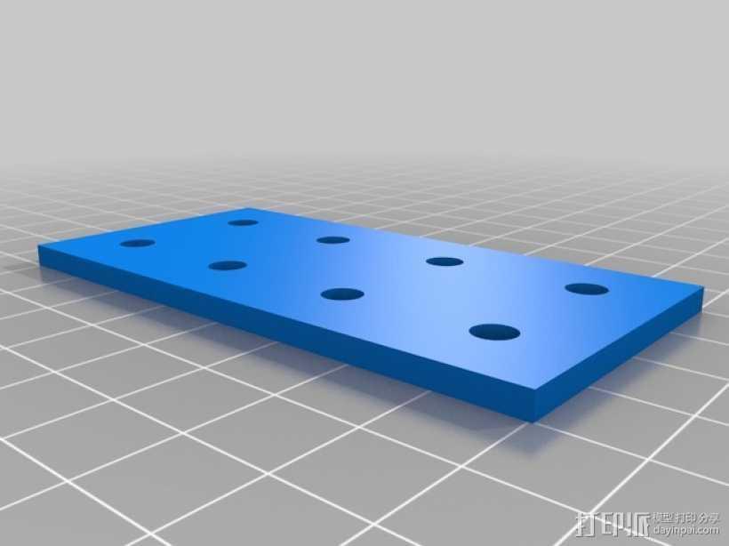 连接板 3D打印模型渲染图