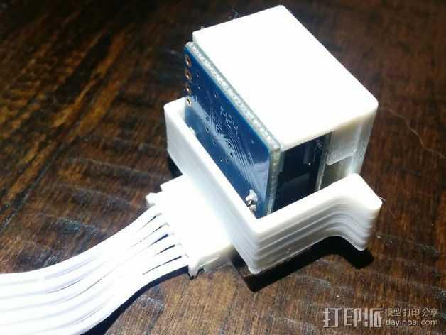 EZ机器人 相机支架 3D打印模型渲染图