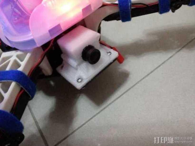 迷你摄影机支架 3D打印模型渲染图