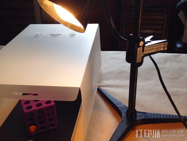 台灯固定夹 3D打印模型渲染图