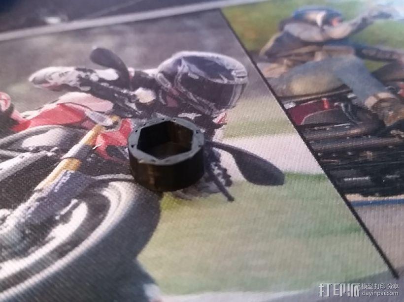 六角螺栓外壳 3D打印模型渲染图