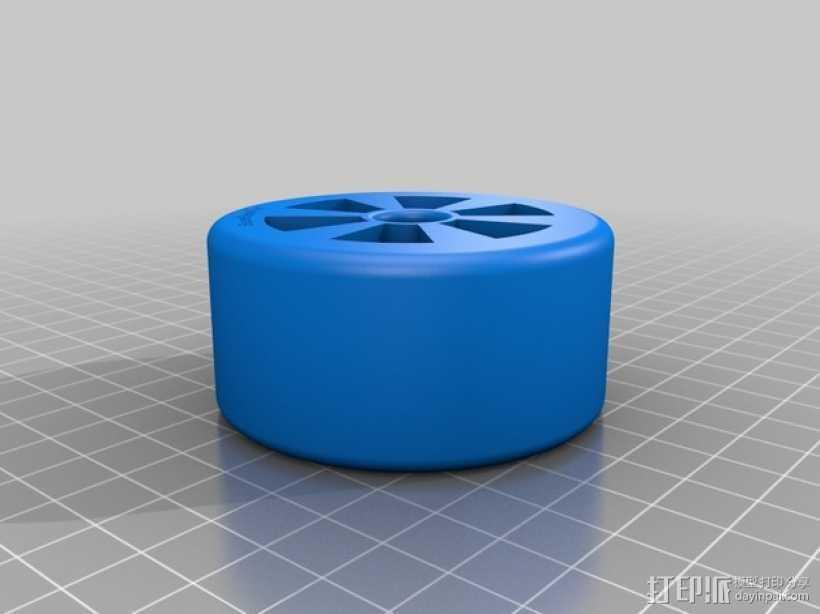 遥控赛车 车轮 3D打印模型渲染图