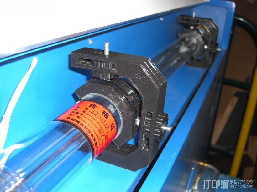激光切割的管架 3D打印模型渲染图