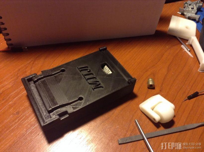 电池盒  3D打印模型渲染图