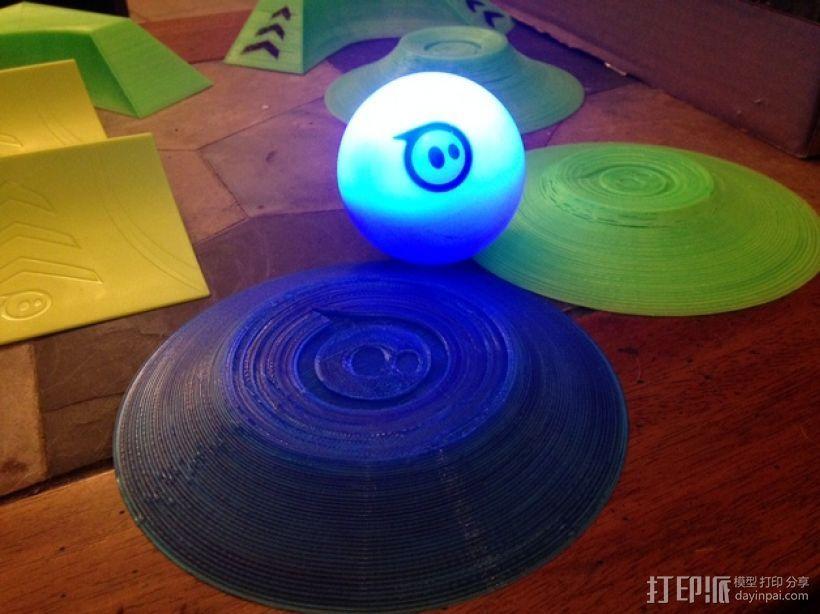 小球 底座 3D打印模型渲染图