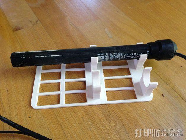 水族池加热器支架 3D打印模型渲染图