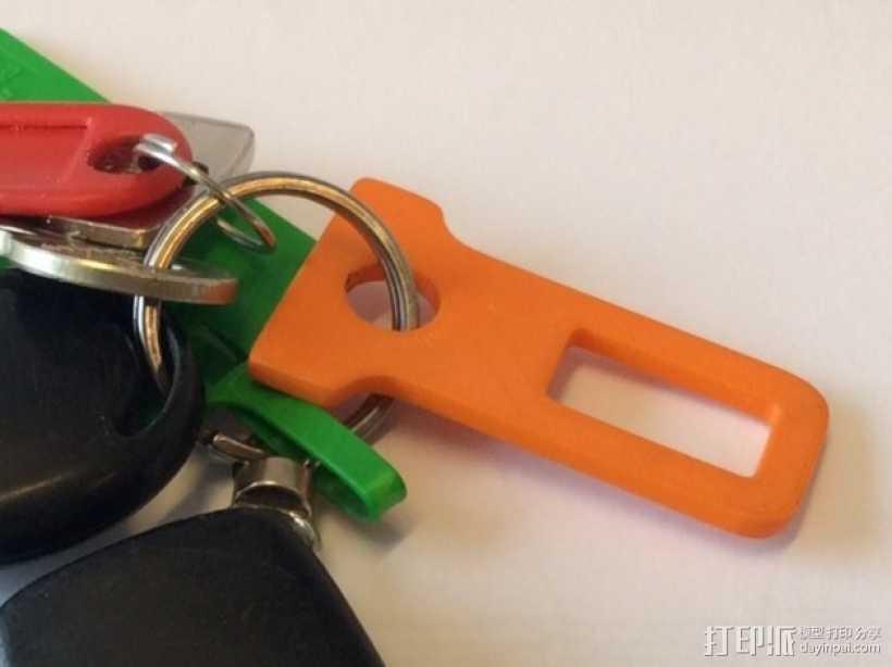 带扣 钥匙扣 3D打印模型渲染图