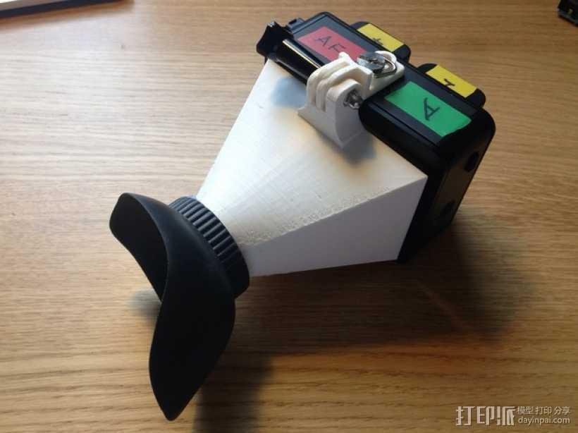 Atomos Ninja 2记录仪 电子取景器 3D打印模型渲染图