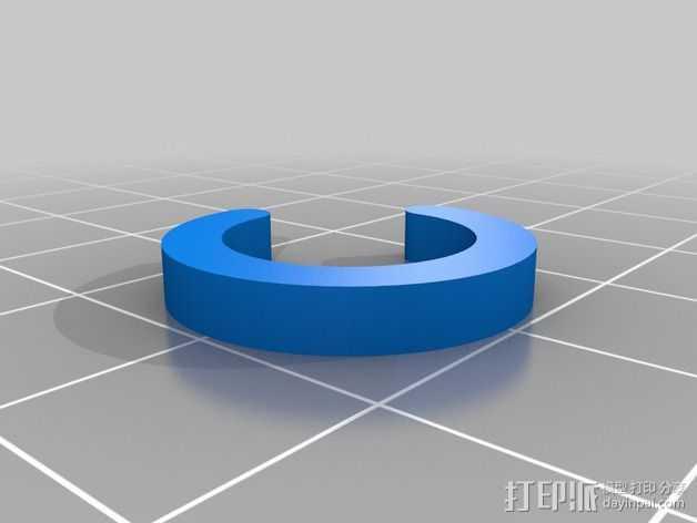 船只桨架垫片 3D打印模型渲染图