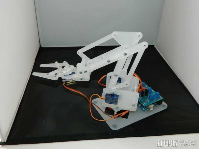 机械臂V2 3D打印模型渲染图