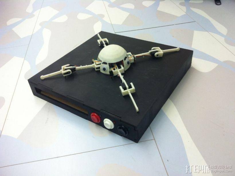 GoonQuad四轴飞行器 3D打印模型渲染图