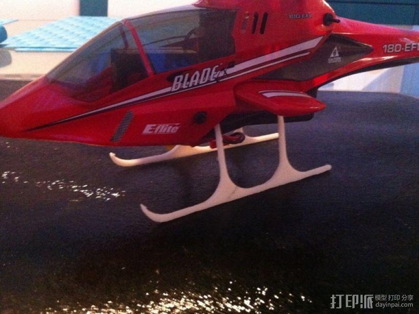 CX2直升机起落架 3D打印模型渲染图