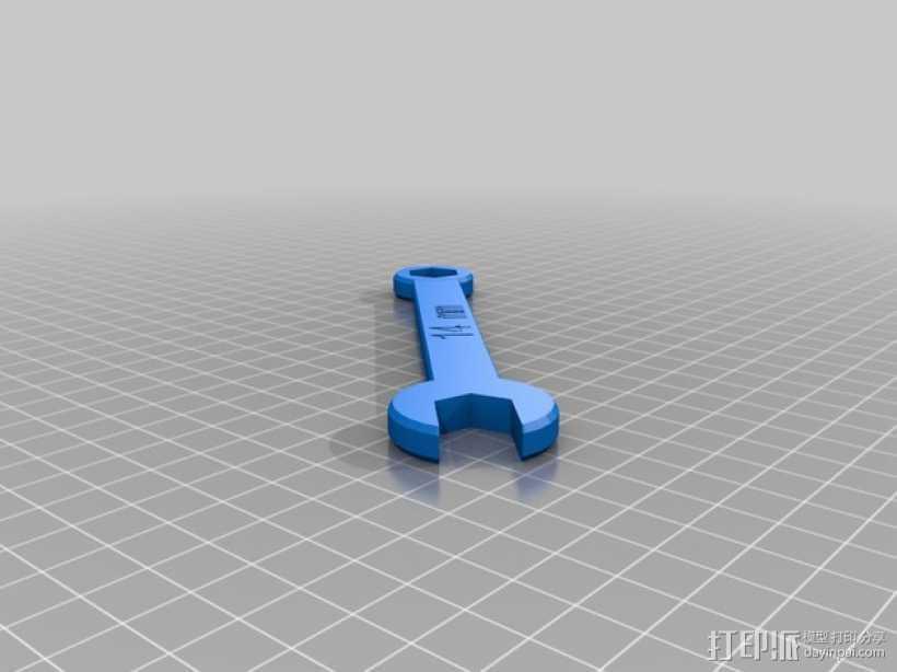 14毫米扳手 3D打印模型渲染图
