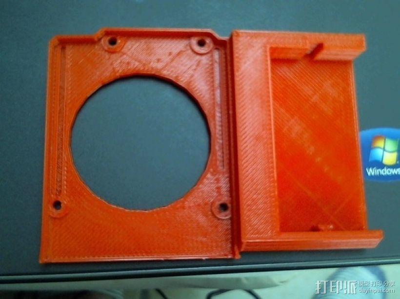 arduino电路板连接器 3D打印模型渲染图