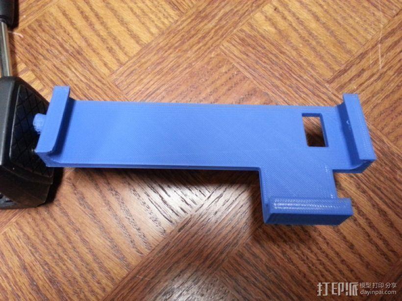 三星Galaxy Note II 支架 3D打印模型渲染图