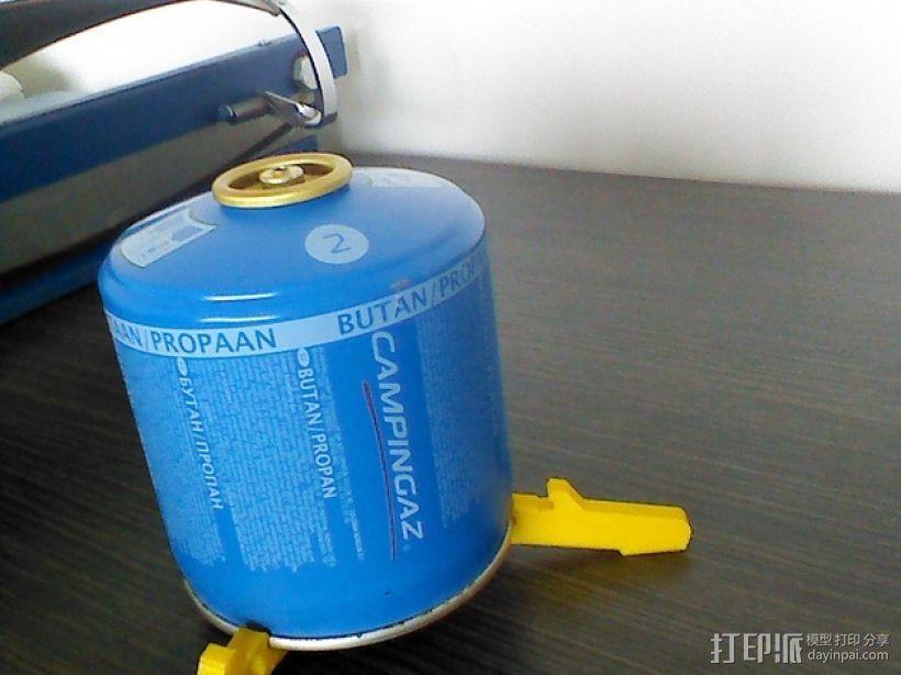 气罐底座 3D打印模型渲染图