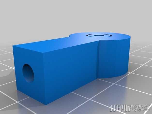 杆端轴承 3D打印模型渲染图