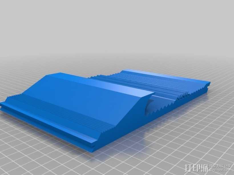 洗矿槽 3D打印模型渲染图